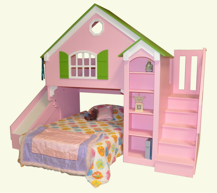 Dollhouse Loft Bed Custom Designed By Tanglewood