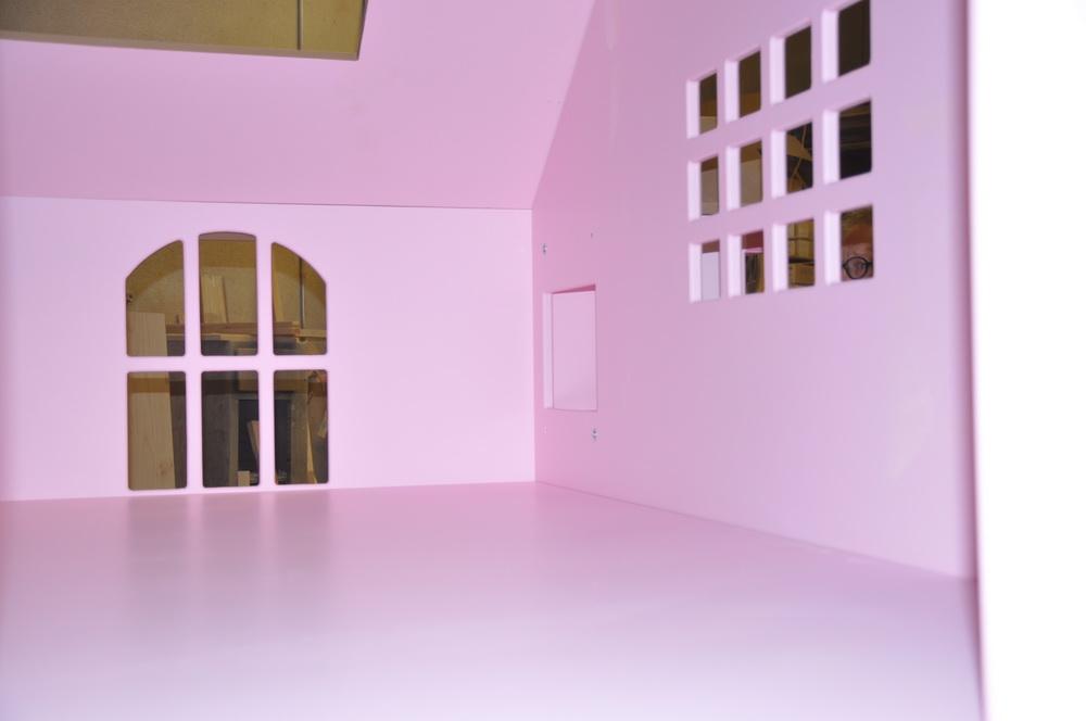 McKenzie Bed/Playhouse Loft View