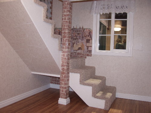 Cottage Playhouse Staircase