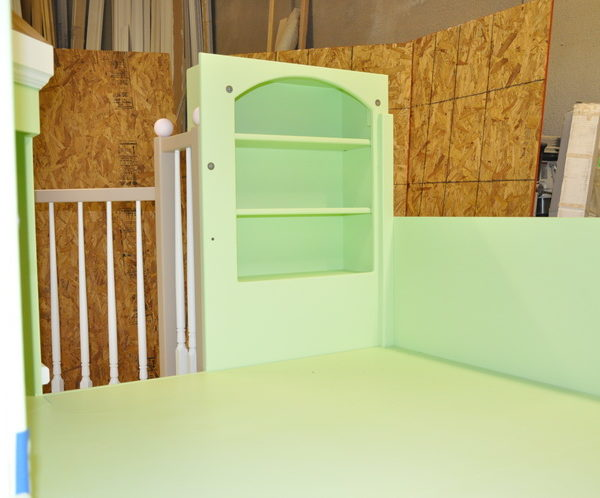 Victorian Bed/Playhouse Loft View