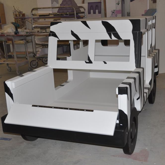 Safari Jeep Bed Back