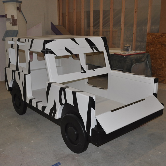 Safari Jeep Bed Designed And Built By Tanglewood Design
