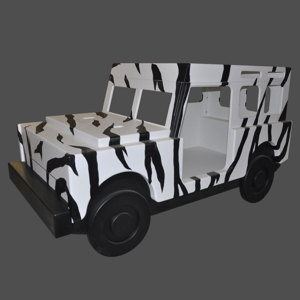 Safari Jeep Bed