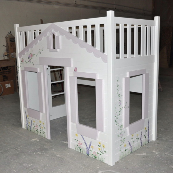 Mindy Bunk Bed - Hand Painted