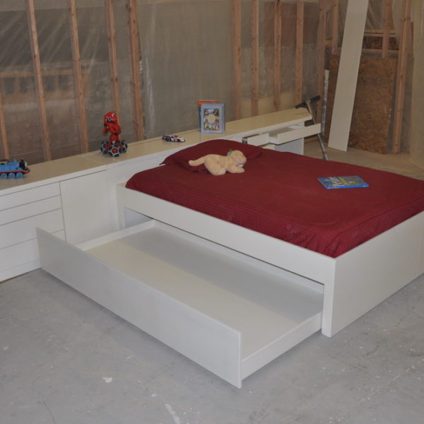 Large Trundle for Mattress of Additional Storage