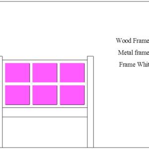 Wood or Metal w Panels