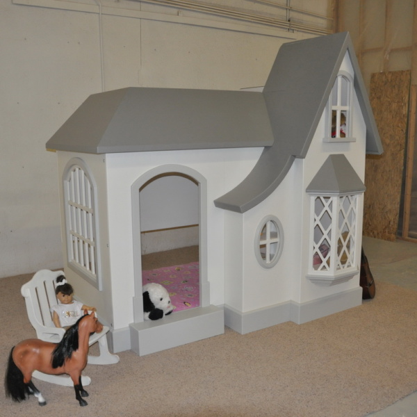 Cozy Cottage Bed and Playhouse-633
