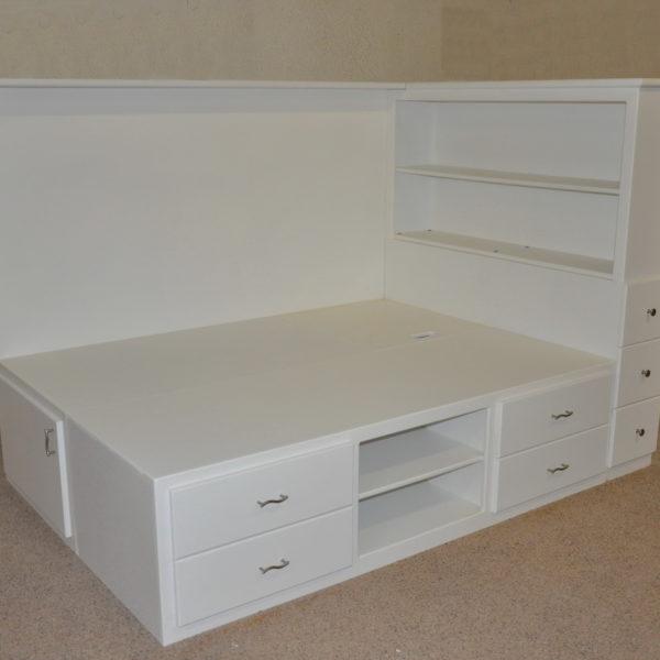 Orlando Platform Bed w/ Storage