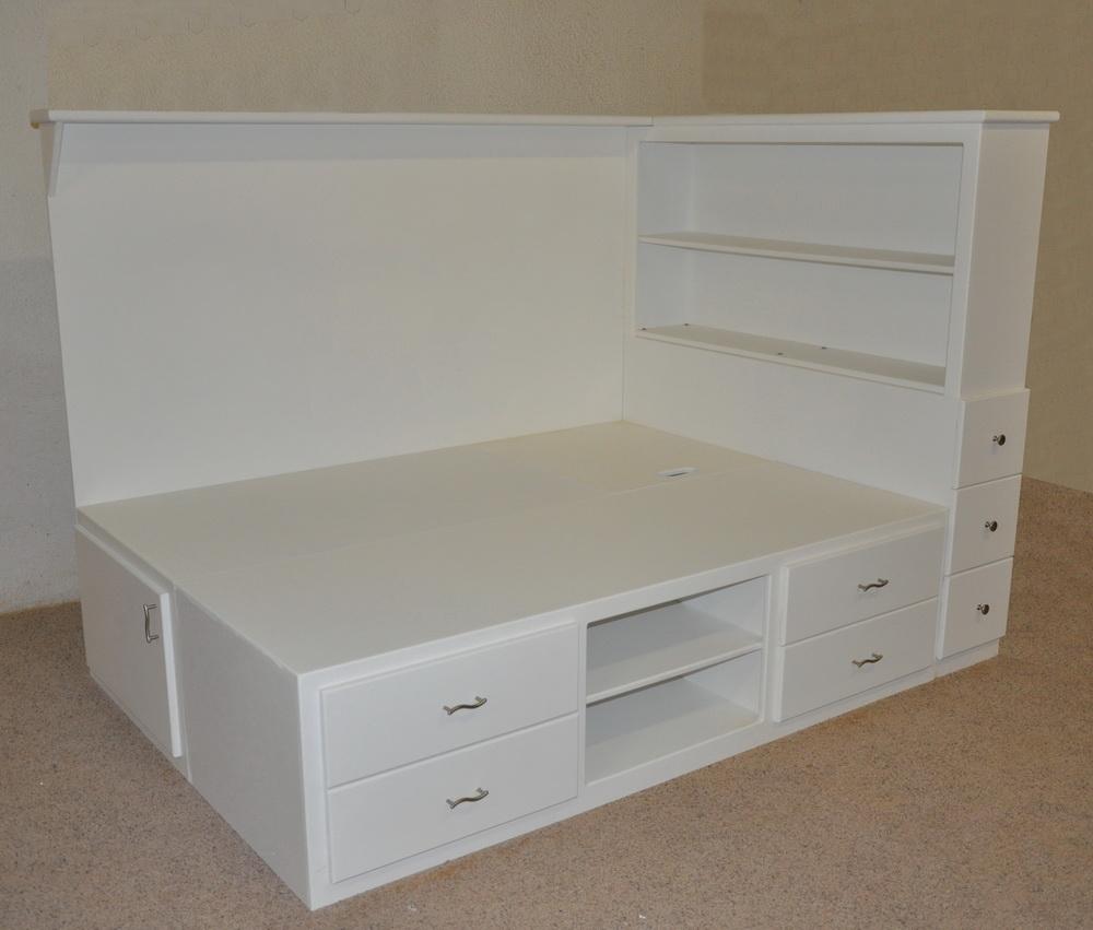 Orlando Platform Bed Designed And Built By Tanglewood Design