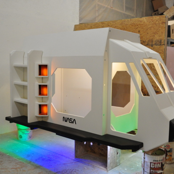 Space Shuttle Playhouse with Lights