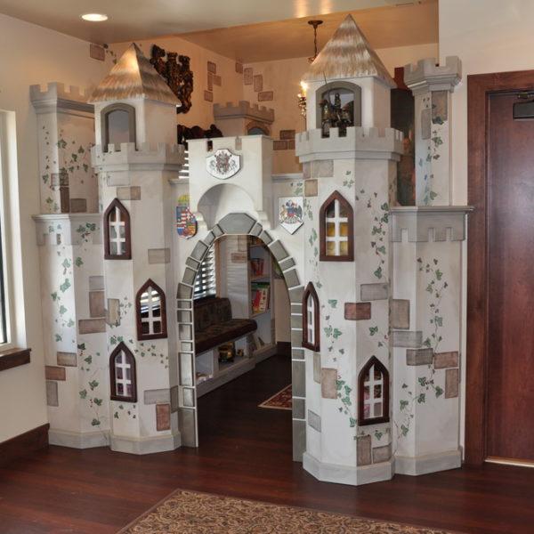 Christensen Castle waiting room playhouse