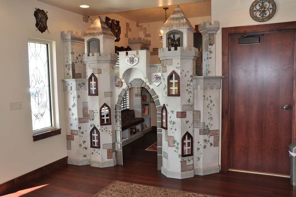 Waiting Room Playhouse Castle Custstomizable And For