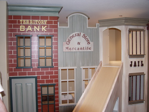 Old West Storefront Playhouse
