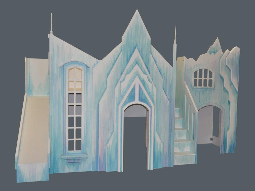 Frozen Castle Playhouse Tanglewood Design