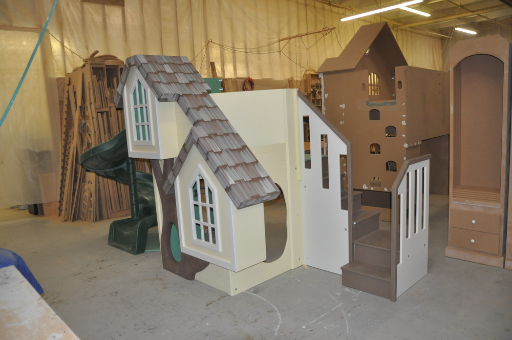 Treehouse / Clubhouse - Custom Designed and Built on