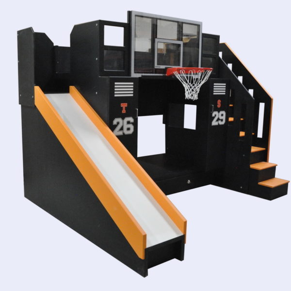 The Ultimate Basketball Bunk Bed Slide