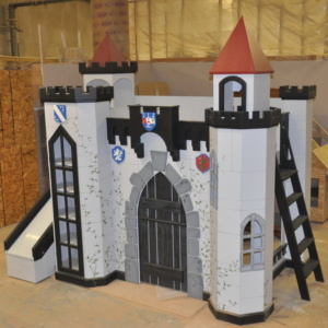 Cain Castle Bunk Bed
