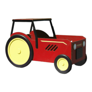 Tractor Bed and Playhouse
