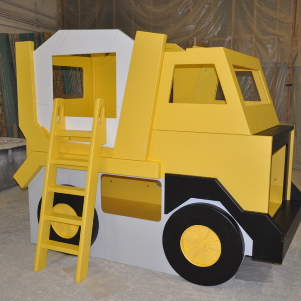 Cement Mixer Truck - Bunk Bed