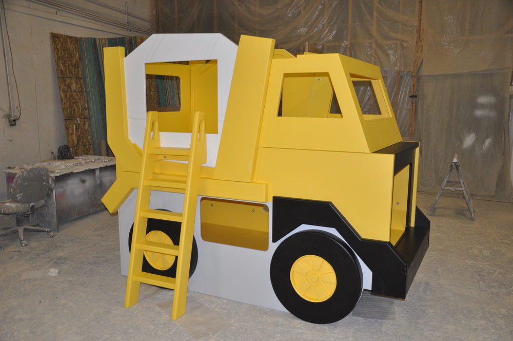 Cement Mixer Truck - Bunk Bed