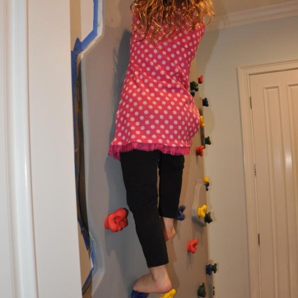 Climbing Rockwall