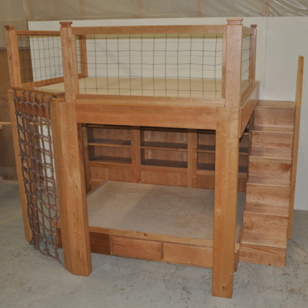 Cherrywood Platform Bed