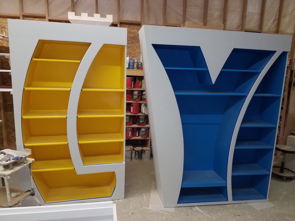 Play Bookcase Creative Storage Space Designed By