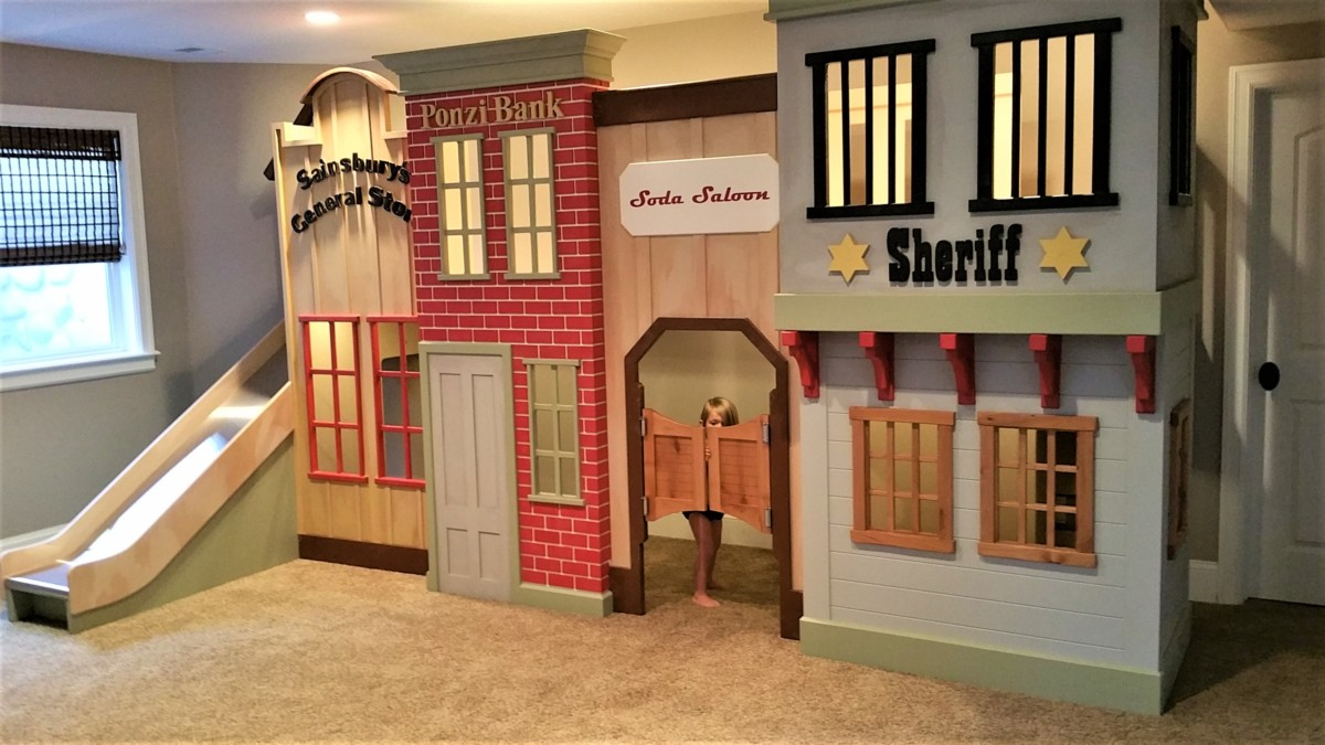 Old West Storefront Playhouse By Tanglewood Design