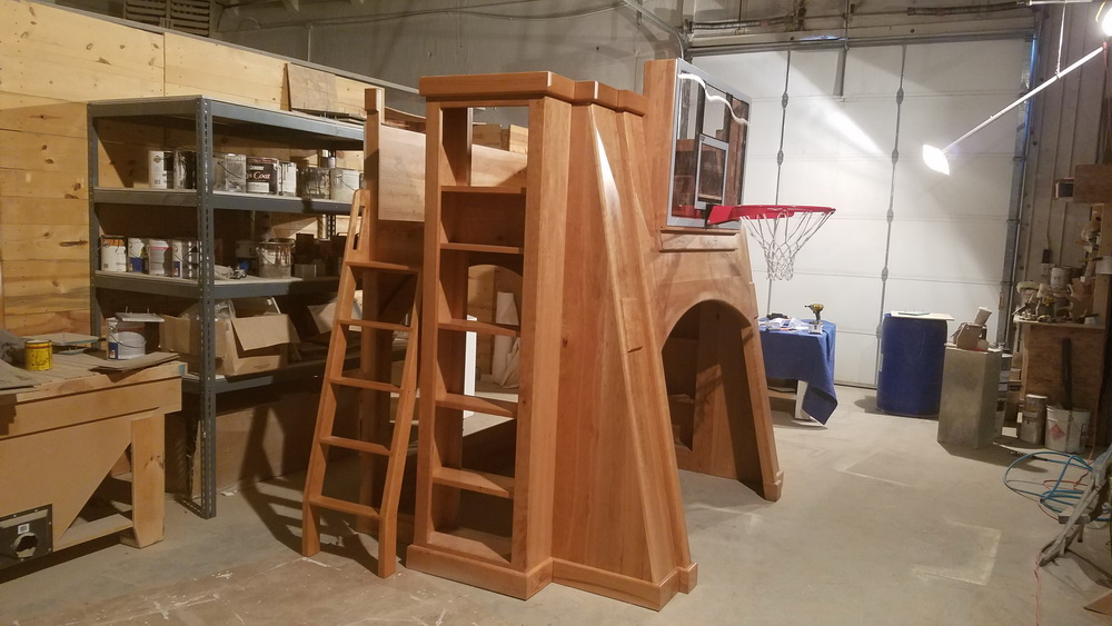 The Pro Basketball Bunk Bed