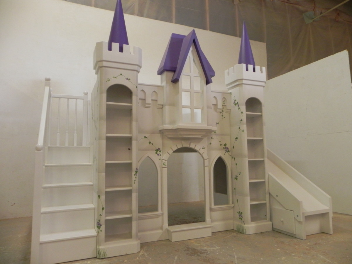 San Marcos Castle Bunk Bed Custom Designed By Tanglewood