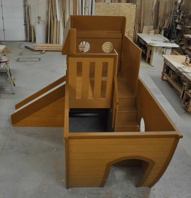 noah 39 s ark indoor playhouse custom designed by tanglewood. Black Bedroom Furniture Sets. Home Design Ideas