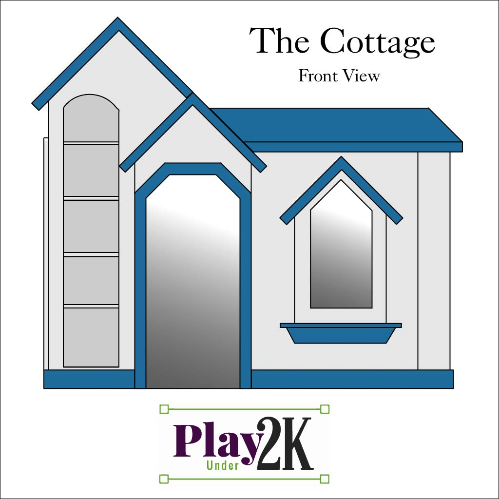 The Play Under 2K Cottage - Tanglewood Design