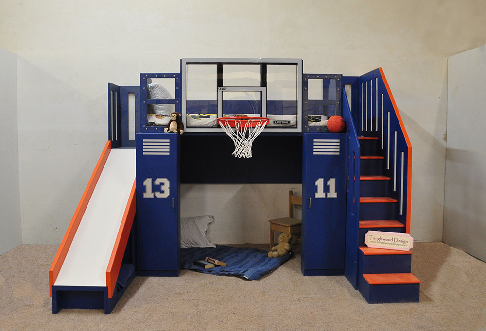 The Ultimate Basketball Bunk Bed Tanglewood Design