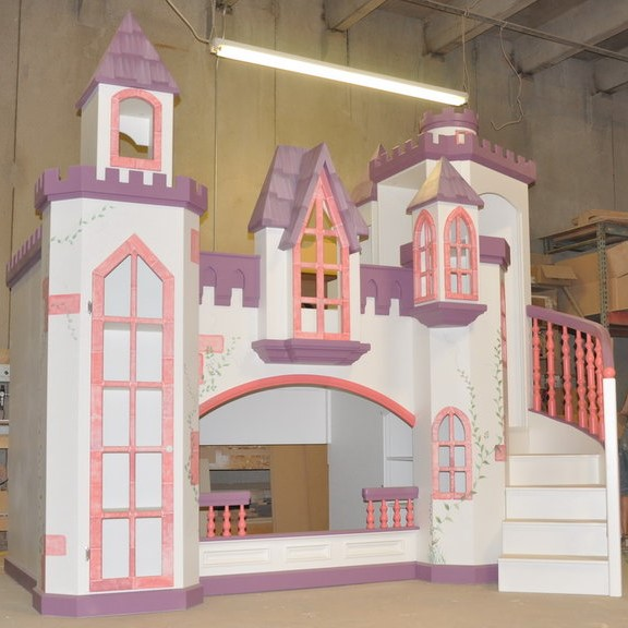 Braun Castle Bunk Bed A Perfect Princess Castle Bed For