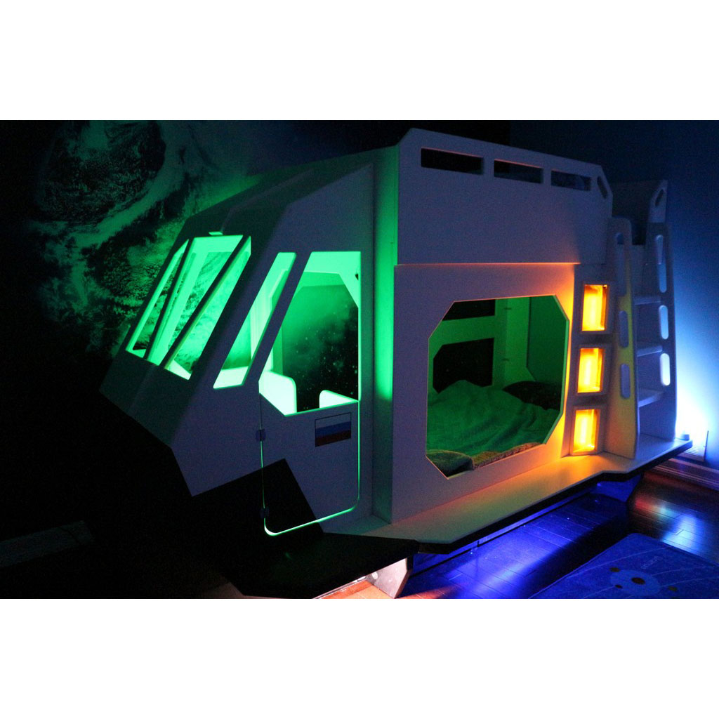 Space Shuttle Bunk Bed Indoor Playhouse Bunk Bed Loft Bed And More