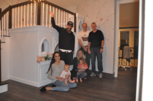 Rockabye Castle, Rockabye Mommy, Backstreet Boys, AJ McLean, Princess Castle Loft Bed with Curving Staircase, Playhouse Bed, Princess Castle Bunk Bed, Castle Bed, Castle Bedroom, Princess Castle Bed, Playhouse Bunk Bed, Castle Beds, Princess Beds, Custom Kids Furniture